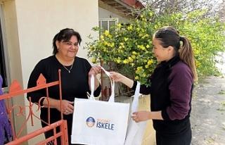 İsklele Belediyesi'nden 5 bin bez çanta