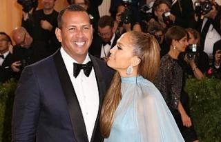 Jennifer Lopez, beyzbolcu sevgilisi AlexRodriguez...