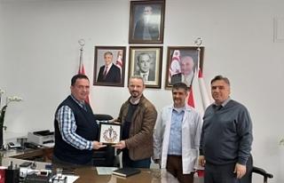 Lefkoşa Doktor Burhan Nalbantoğlu Devlet Hastanesi'nde...