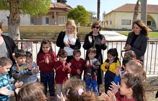 Meral Akıncı, Vadili İlkokulu'na, Cumhurbaşkanlığı...