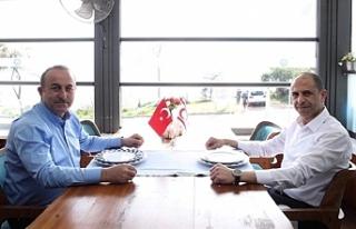Özersay, Çavuşoğlu ile görüştü