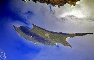 Rus kozmonot Kıbrıs'ın fotoğrafını çekti