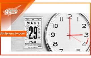 Saatler, 03.00'te bir saat ileri alınacak