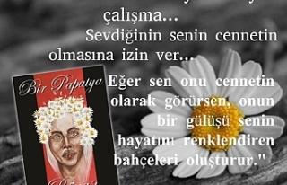 """Şevket Alkapon'un ilk romanı """"Bir Papatya Rüyası""""..."""