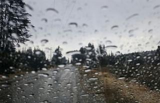Son 24 saatte en fazla yağış İskele'de gerçekleşti