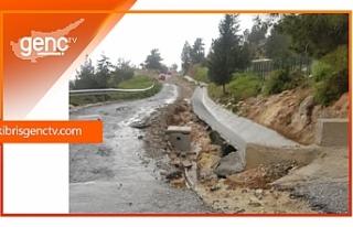 Taşkent'te 2 yol kapatıldı