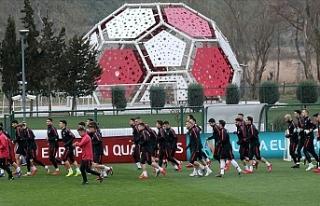 Türkiye A Milli Futbol Takımı hazırlıklarını...