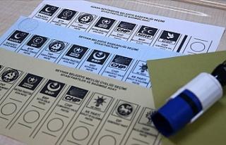 Türkiye'de 32 ilde oy verme işlemi bitti