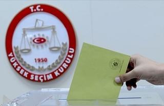 Türkiye'de seçim yasakları başladı