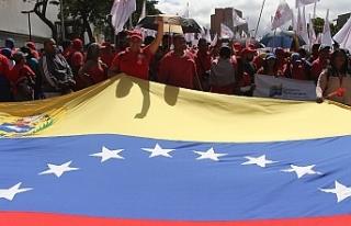 Venezuela'da hükümet taraftarları da 9 Mart'ta...