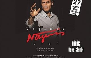 """""""Yaşamak Nazım Gibi"""" adlı oyun, tiyatro severlerle..."""