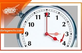 Yaz saati uygulaması Pazar günü başlayacak