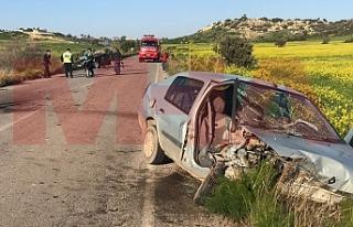 Ziyamet- Kumyalı anayolu üzerinde kaza...9 yaralı