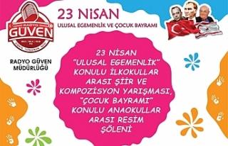 """""""23 Nisan Ulusal Egemenlik"""" konulu ilkokullar..."""