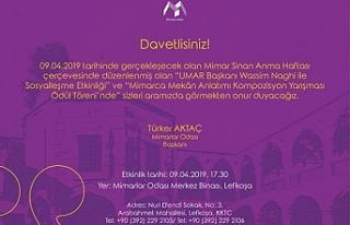 """""""9 Nisan Mimar Sinan'ı Anma ve Mimarlar Günü""""..."""
