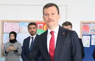 AK Parti Ankara'nın tüm ilçelerinde sonuçlara...