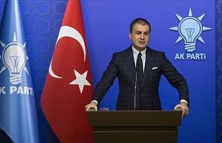 """AK Parti Sözcüsü Çelik: """"Demokrasinin sahibi..."""