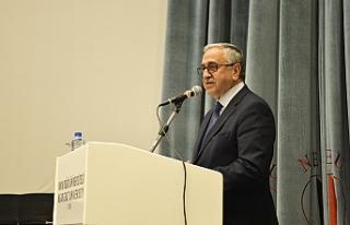 Akıncı, Ahmet Sami Topcan Belgesel'ini izledi