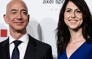 Amazon'un kurucusu Bezos'tan eşine boşanma...