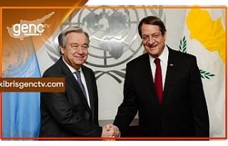 Anastasiadis, BM Genel Sekreteri ile görüştü