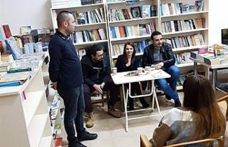 Bağımsızlık Yolu, Gazimağusa'da kitap etkinliği...
