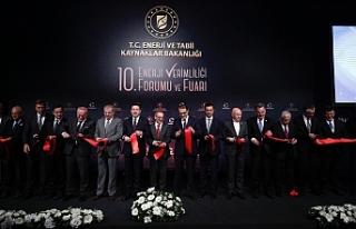 Bakan Nami, İstanbul'da katıldığı 10. Enerji...