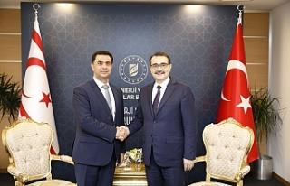 Bakan Nami, Türkiye'de mevkidaşı ile görüştü