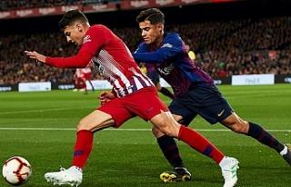 Barcelona, Atletico ile arasındaki farkı 11 puana...