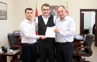 Başbakan Erhürman, Kırçiçek ve Pınar'ı...