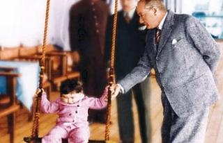 Bugün 23 Nisan; Ulusal Egemenlik ve Çocuk Bayramı'nın...