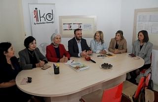 Çeler'en ş Kadınları Derneği'ne ziyaret