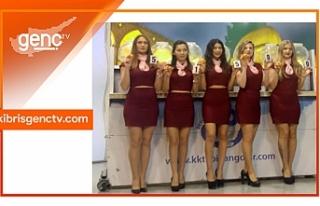 Devlet Piyangosu Kıbrıs Genç Tv stüdyolarında...