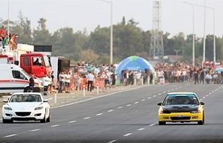 Drag Yarışı test sürüşüne ilişkin uyarı