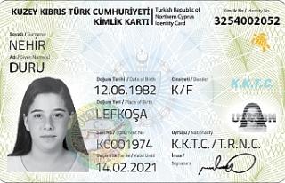 E-kimlik sırası Geçitkale ve Akdoğan'da