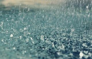 En çok yağış Mehmetçik köyüne düştü