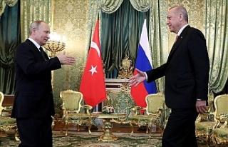 """Erdoğan: """"Rusya ile Suriye'de atacağımız..."""