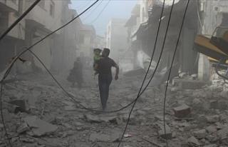 Esed rejimi Mart ayında İdlib'i 6 bin 422 kez...