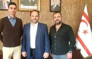Gazioğlu, Sadıoğlu'nu ziyaret etti