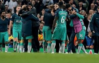 Gol şöleninde Tottenham tur atladı