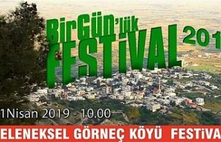 Görneç Köyü El Makarnası Festivali 21 Nisan'da...