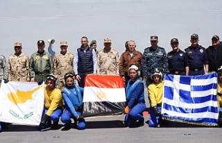 Güney Kıbrıs, Yunanistan ve Mısır ortak bir askeri...