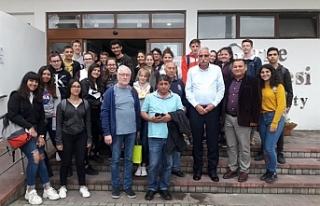 Güngördü, 19 Mayıs TMK ve Alman öğrenci grubunu...