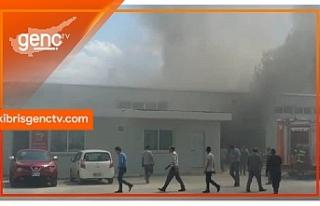 Hamitköy'de yangın!