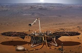 InSight, kızıl gezegende ilk kez yer sarsıntısı...