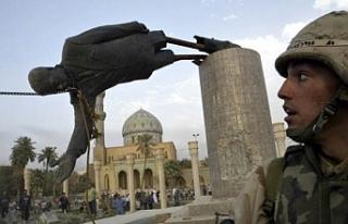 Irak'ın işgalinden bu yana yarım milyon insan...
