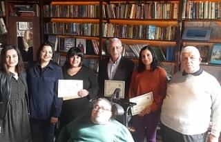 Kaşgarlı Mahmut Öykü Yarışması ödül töreni...