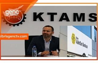 KTAMS'tan, Kıbrıs Vakıflar Bankası'nda...
