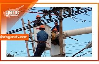 Lefkoşa ve Girne'de bazı bölgelere bugün elektrik...