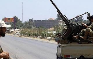 Libya'nın başkenti Trablus'ta çatışmalar...