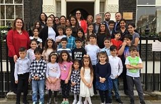 Londra Temsilciliği'ne ziyaret